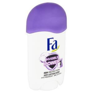 Fa tuhý antiperspirant Invisible Power 50ml
