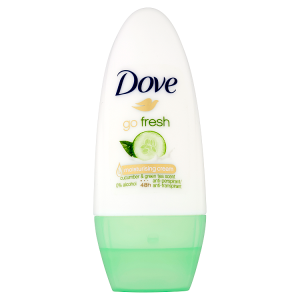 Dove Go Fresh Cucumber & Green Tea Scent kuličkový antiperspirant 50ml