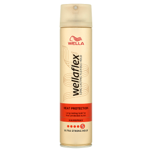 Wella Wellaflex Heat Protection lak na vlasy Ultra Strong Hold 250ml