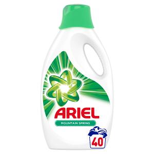 Ariel Mountain Spring Tekutý Prací Prostředek 2.2l, 40 Praní