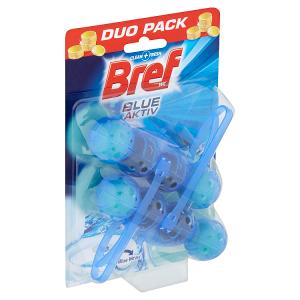 Bref Blue Aktiv Eucalyptus tuhý WC blok 2 x 50g