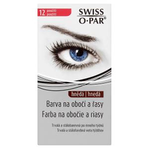 Swiss O Par Barva na obočí a řasy hnědá 12 použití