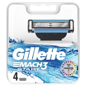 Gillette Mach3 Start Hlavice K Holicímu Strojku 4ks