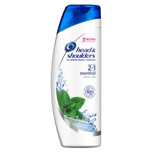 Head & Shoulders Menthol Fresh 2v1 Šampon Proti Lupům 360ml