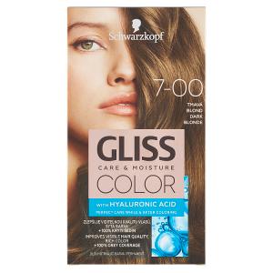 Schwarzkopf Gliss Color barva na vlasy Tmavá Blond 7-00