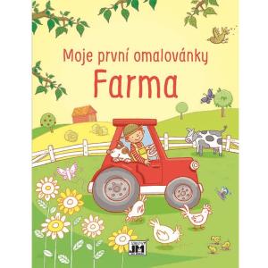 Moje první omalovánky Farma