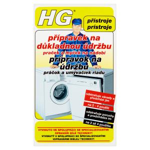 HG Přípravek na důkladnou údržbu praček a myček na nádobí 2 x 100g