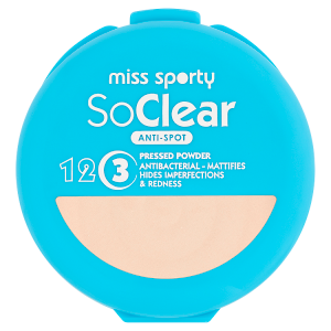 Miss Sporty So Clear pudr 001 transparent 9,4g