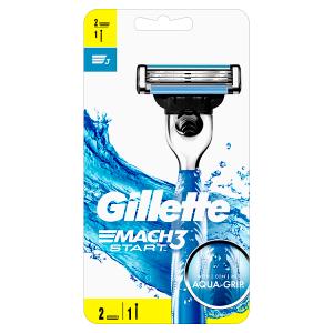 Gillette Mach3 Start Rukojeť K Holicímu Strojku + 1 Hlavice