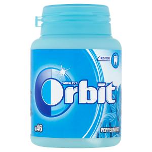 Wrigley's Orbit Peppermint žvýkačky bez cukru 46 ks 64g