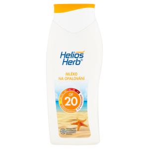 Helios Herb Mléko na opalování OF 20 400ml