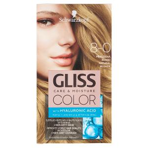 Schwarzkopf Gliss Color barva na vlasy Přirozená Blond 8-0