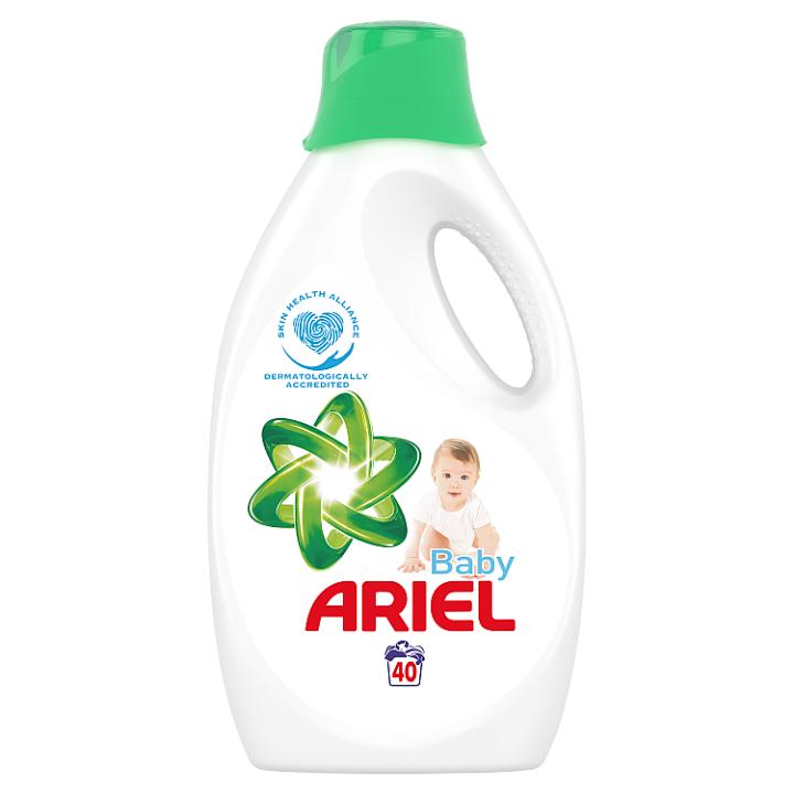 Ariel Baby Tekutý Prací Prostředek 2.2l, 40 Praní