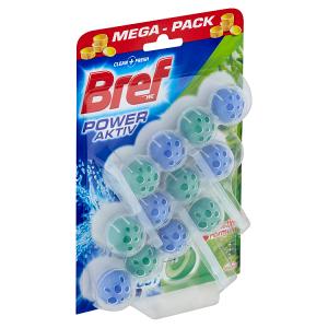 Bref Power Activ Fragrance Boost Pine tuhý WC blok 3 x 50g