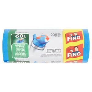Fino Easy-Pack Pytle na odpadky silné 60l 20 ks