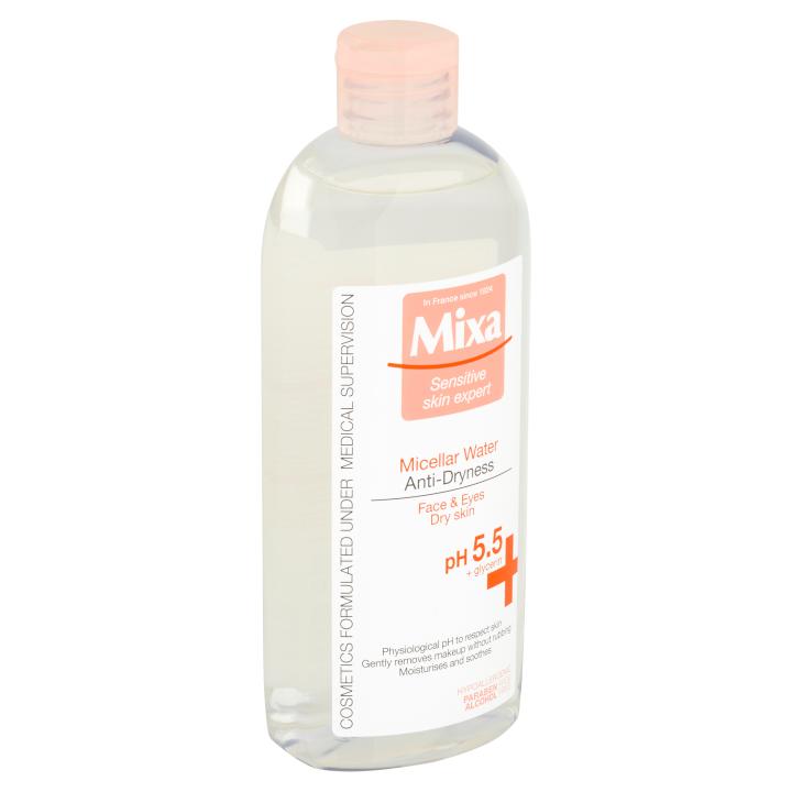 Fotografie Mixa Sensitive Skin Expert Micelární voda proti vysušování 400ml Mixa