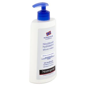 Neutrogena Hloubkově hydratační tělové mléko pro citlivou pokožku 400ml