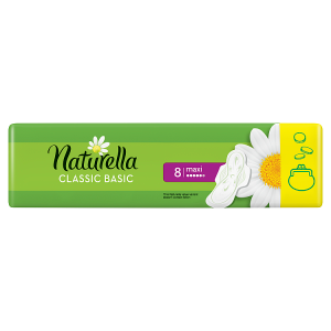 Naturella Classic Camomile Basic Maxi Hygienické Vložky 8x