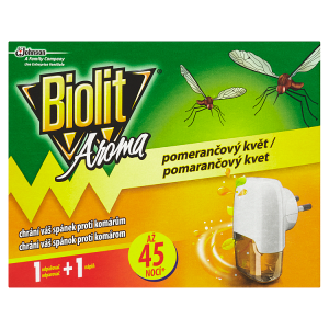 Biolit Aroma Elektrický odpařovač s tekutou náplní s vůní pomeranče 27ml