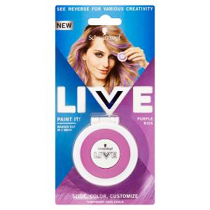 Schwarzkopf Live Paint It! smývatelná křída na vlasy Purple Kiss