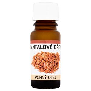 Santalové dřevo vonný olej 10ml