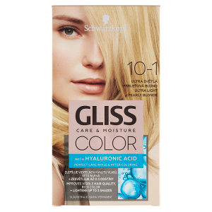 Schwarzkopf Gliss Color barva na vlasy Ultra Světlá Perleťová Blond 10-1