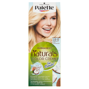 Schwarzkopf Palette Permanent Naturals Color Creme barva na vlasy Skandinávská Blond L6-0