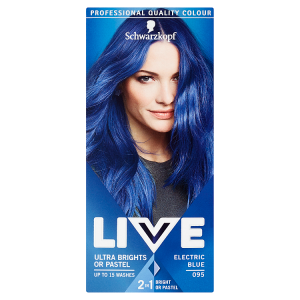 Schwarzkopf Live Ultra Brights or Pastel barva na vlasy 095 Electric Blue