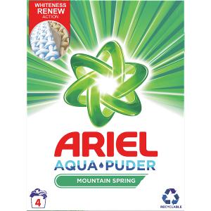 Ariel AquaPuder  Mountain Spring Prací Prášek 4 Praní