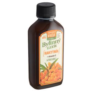 MaxiVita Herbal Bylinný elixír rakytník + vitamin C 200ml