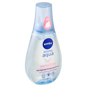 Nivea Intimo Aqua Sensitive Zklidňující pěna pro intimní hygienu 250ml