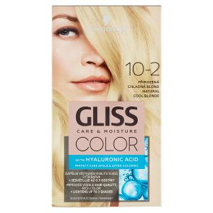 Schwarzkopf Gliss Color barva na vlasy Přirozená Chladná Blond 10-2