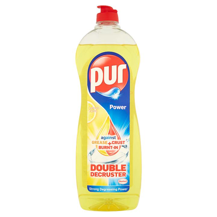 Pur Power Lemon Extra tekutý prostředek na ruční mytí nádobí 900ml
