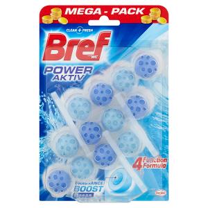 Bref Power Activ Fragrance Boost Ocean tuhý WC blok 3 x 50g