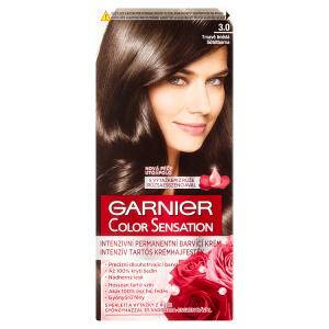 Garnier Color Sensation Intenzivní permanentní barvící krém tmavě hnědá 3.0