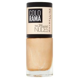Maybelline New York Colorama The 24 Karat Nudes 474 lak na nehty 7ml