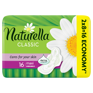 Naturella Classic Camomile Maxi Hygienické Vložky 16x