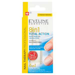 Eveline Cosmetics Nail Therapy Professional Total Action 8v1 nehtový kondicionér 12ml