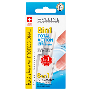 Eveline Cosmetics Nail Therapy Professional 8in1 intensive nail conditioner 12ml