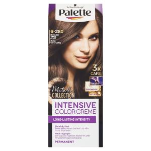Schwarzkopf Palette Intensive Color Creme barva na vlasy Metalický Tmavě Plavý 6-280