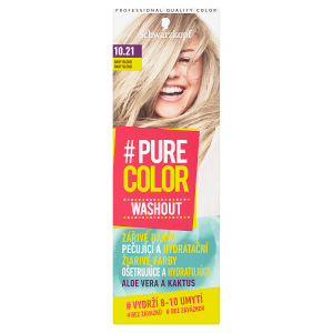 Schwarzkopf Pure Color Washout barva na vlasy Baby Blond 10.21