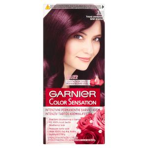 Garnier Color Sensation  permanentní barva na vlasy 3.16 tmavá ametystová, 60+40+10ml