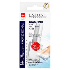 Eveline Cosmetics Nail Therapy Professional Nail strengthener with diamonds 12ml