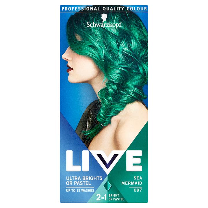 Schwarzkopf Live Ultra Brights or Pastel barva na vlasy Sea Mermaid 097