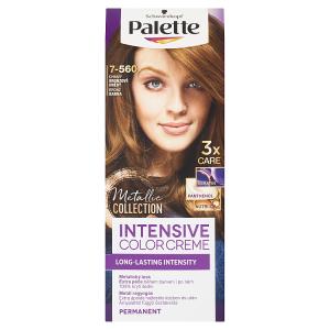 Schwarzkopf Palette Intensive Color Creme barva na vlasy Ohnivý Bronzově Hnědý 7-560