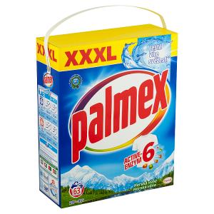 PALMEX prací prášek Horská vůně BOX 63 praní, 4,095kg