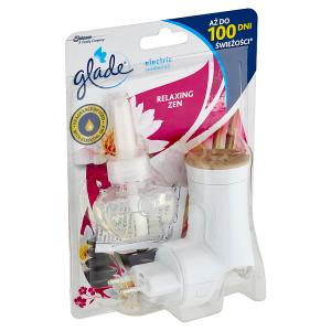 Glade Electric Scented Oil Relaxing Zen elektrický tekutý osvěžovač vzduchu 20ml