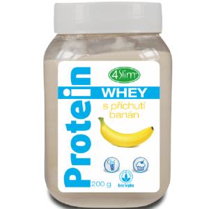 4Slim Whey protein  s příchutí banán 200g