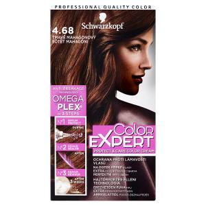 Schwarzkopf Color Expert barva na vlasy Tmavě Mahagonový 4.68