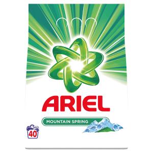 Ariel Mountain Spring Prací Prášek 3kg 40Praní